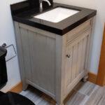 ADU bathroom sink detail